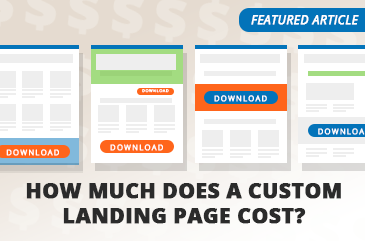Article: How Much Does A Custom Landing Page Cost?